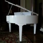 Fold away baby grand piano