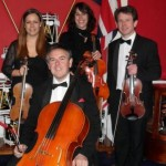 Kaleidoscope String Quartet at the Royal Military Academy, Sandhurst