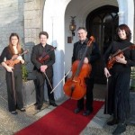 Kaleidoscope String Quartet at Langrish House, Petersfield