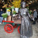 Kaleidoscope Living Statue at Goodwood