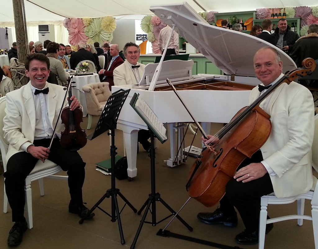 Kaleidoscope Palm Court Trio at Goodwood