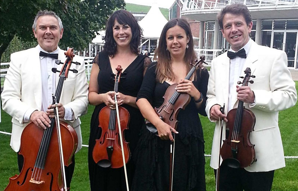 Kaleidoscope String Quartet at Goodwood Racecourse
