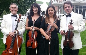 Kaleidoscope String Quartet at Goodwood House