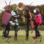 Musical Stilt Walkers for hire