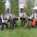 Male String Quartet dressed in Edwardian Tails