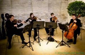 Kaleidoscope String Quartet, Tithe Barn, Petersfield