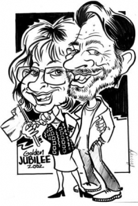 Danny Bryne Caricaturist Dorset