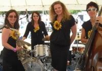 female jazz quartet