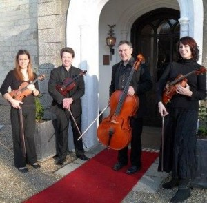 String Quartet at Burley Manor Hotel